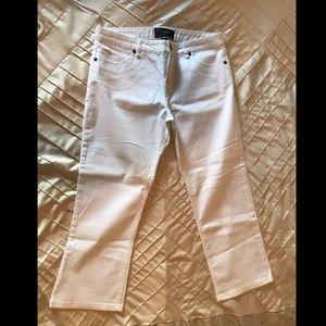 White Sanctuary crop jeans- NWOT